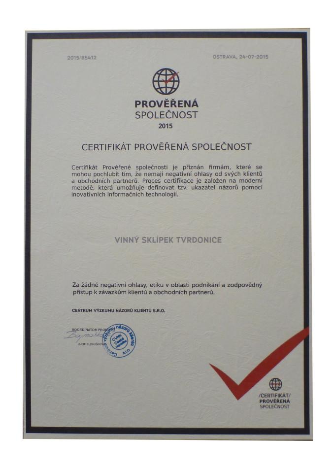 Kvalitní služby ověřeny zákazníky i certifikovanou společností.